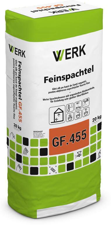 GF.455 Glet alb, sintetic, 20kg