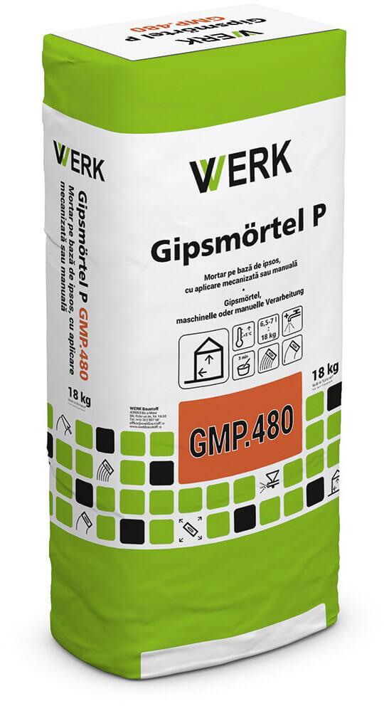 GMP.480 Tencuială monostrat ușoară de ipsos, 15 kg