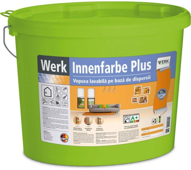 Innenfarbe Plus Vopsea lavabilă pe bază de dispersii, interior