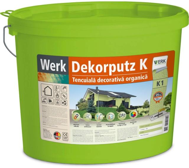 Dekorputz K1 Tencuială decorativă, aspect granulat, 1mm, 25kg