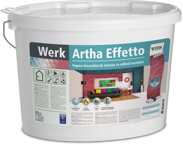 Artha Effetto Vopsea decorativă de interior cu reflexii metalice