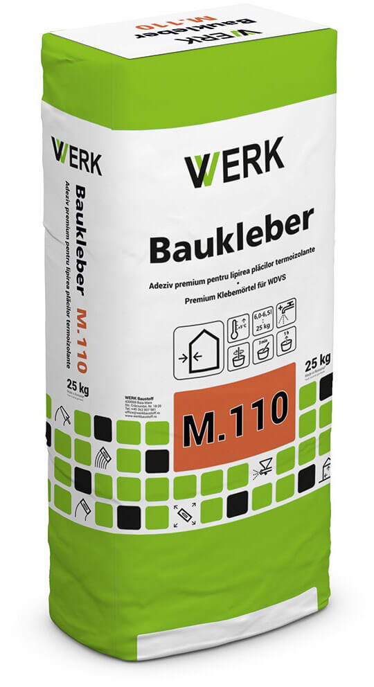 M.110 Adeziv premium pentru plăci termoizolante, 25kg