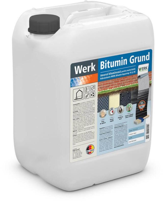 Bitumin Grund Amorsă bituminoasă pentru materialele hidroizolante 1K și 2K