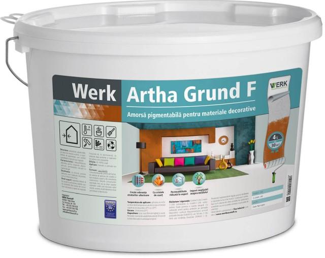 Artha Grund F Amorsă pigmentabilă pentru materiale decorative