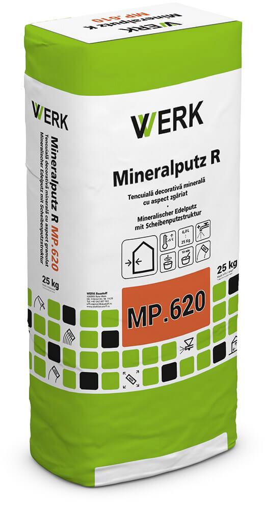 MP.620 R2 Tencuiala decorativă minerală, 25kg