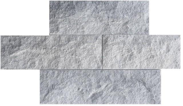 Piatră naturală sprenguită II, 7cm, gri
