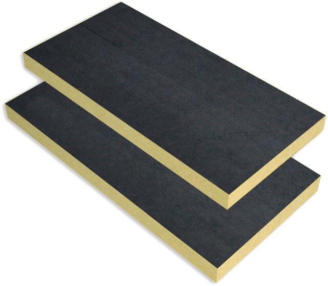 Steinwolleplatte 110 FV Vată minerală 110 FV, pentru fațade ventilate, 110 kg/m³, 5cm